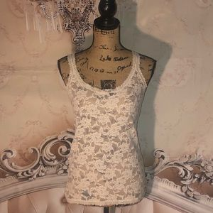 VTG Abercrombie &Fitch Lace Cami